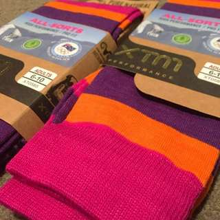 XTM Knee High Merino Wool Snow Heater Socks
