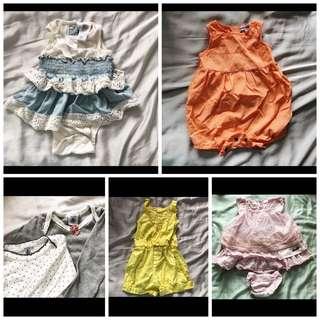 Branded bundle sale (for baby girl)