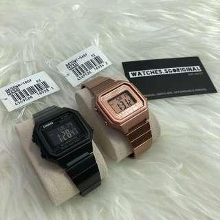 Casio Couple Vintage Watch Authentic