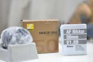 AF Nikkor 50mm f/1.8