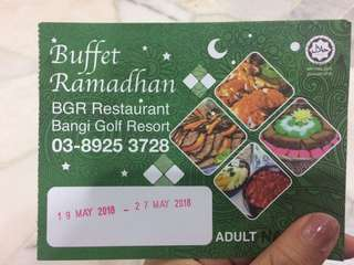 Bangi Gold Resort Ramadhan Buffet