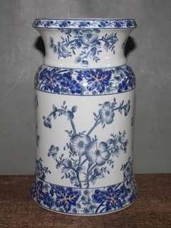 Old vase青花老瓷器花瓶