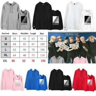 [PREORDER] BTS Wings Final Hoodies