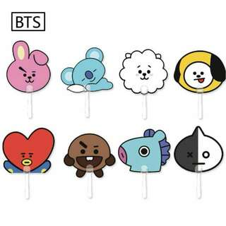 [PREORDER] BTS BT21 Hand Fan