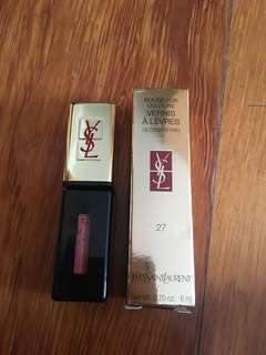 YSL Rouge Pur Couture Glossy Stain #27