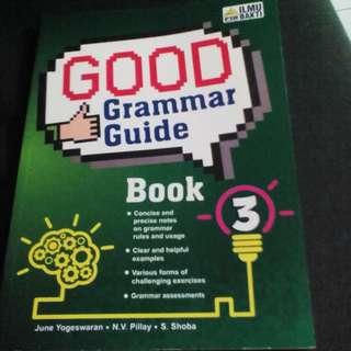 Book English, Good Grammar Guide Book 3, new