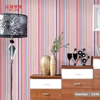 Stripe-Wallpaper High Quality Home Decor