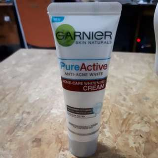 Garnier pure active cream