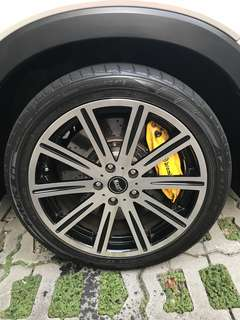 """18"""" used rim and tyres"""