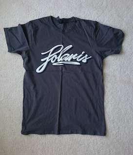Polaris dark grey tshirt size small