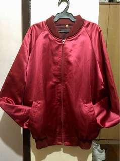 Red Satin Jacket