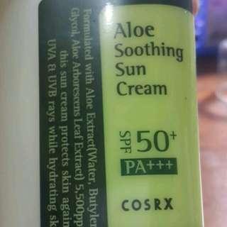 Cosrx Aloe Soothing Sun Cream SPF 50+ PA+++