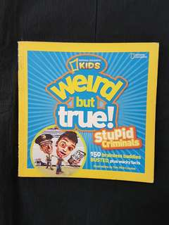 National Geographic Kids: Weird but True Book
