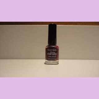 SilkyGirl Ever Glossy Nail Color - Royal Ruby (Kutek Merah Ruby)