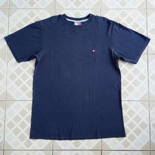 Vintage Tommy Hilfiger Embroidered Small Logo T-Shirt