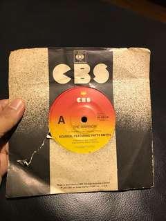 "Scandal Featuring Patty Smyth 7"" Single Vinyl - The Warrior"