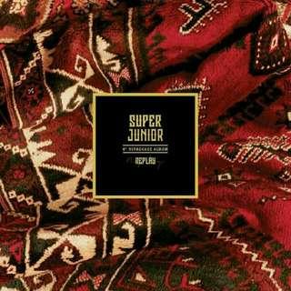 [PREORDER] Super Junior - Replay