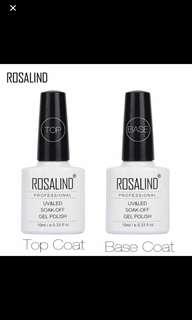 ROSALIND UV GEL POLISH (TOP & BASE COAT SET)