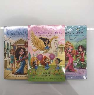 Goddess Girls Books!