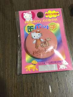 Hello Kitty pin 襟章