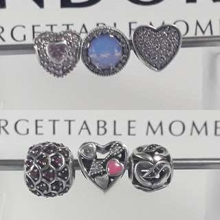 Pandora Charm Sale Set 1 or Set 2
