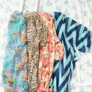 Buy 3 take 1 summer kimonos!