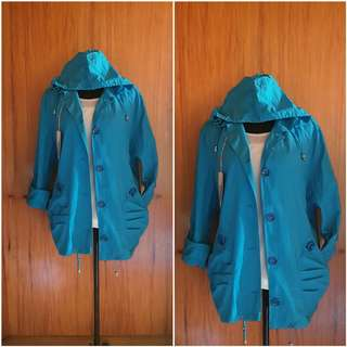 BLUE PARKA (NEW WITH TAG)