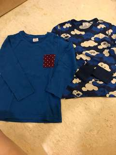 Polarn O. Pyret - long sleeves top for 3-4 year olds