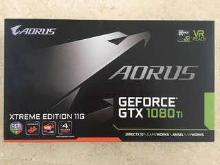 AORUS GeForce® Gigabyte Aorus GTX 1080 Ti Waterforce WB Xtreme Edition 11G