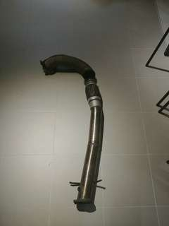 "2pc 3"" downpipe for evo 9"