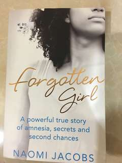 Non-fictional Story book FORGOTTEN GIRL