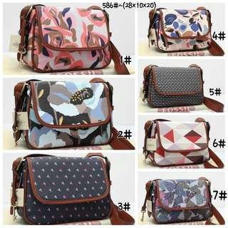 Piper crossbody bag 586 taega & soft leather dove semprem(mirip ori)