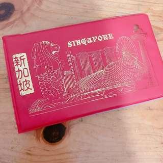 新加坡 印尼 郵票及錢幣紀念册