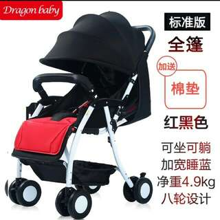 In stock /Baby Stroller /recline and sit