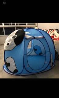 Cow tent house with balls