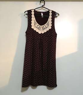 Charity Sale! Authentic Rooka Made in Korea Sleeveless Floral Patterned Women's Top soze Medium