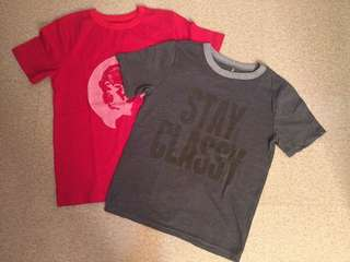 Lot of 2 BN w/o tag Tops for boys