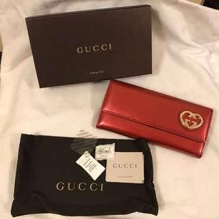 AUTHENTIC Gucci Long Wallet