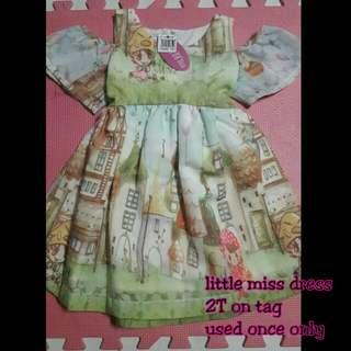 preloved little miss dress