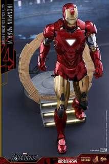 Iron Man Figurine hot Toys Mark VI diecast Ironman New misb normal edition