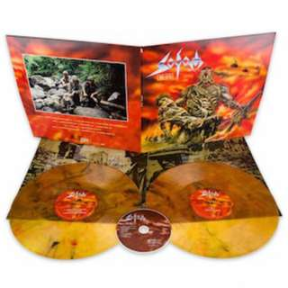 Sodom ‎– M-16 Orange Marbled 2LP Vinyl + CD