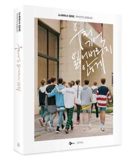 [LIMITED] WANNA ONE PHOTO ESSAY <NOT TO LOSE OUR MEMORY>