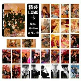 30pcs Wanna One Lomocards 💕
