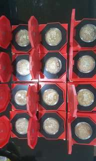 Complete Set - $10 Cupro-Nickel Proof-like Coin