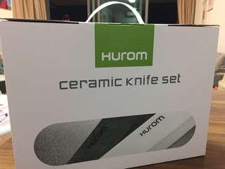 Ceramic knives set