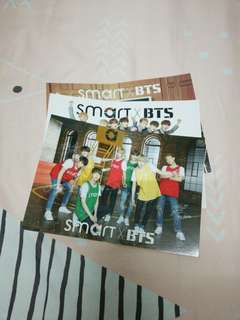 (READY STOCK) BTS X SMART PHOTOCARDS