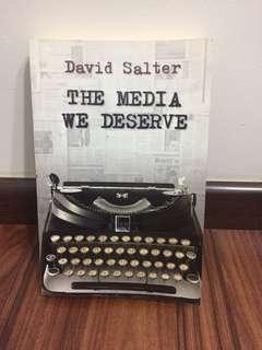 Non Fiction Books - The Media we deserve by David Salter