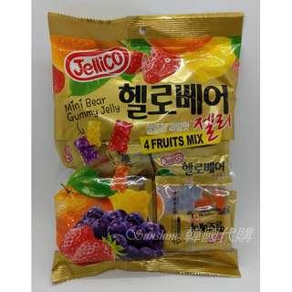 🚚 現貨 韓國 Jellico 小熊 綜合水果軟糖 軟糖 分享包