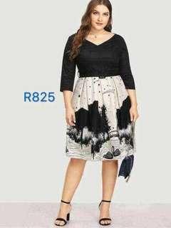 Casual plus size dress