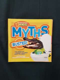 National Geographic Kids: Myths Busted Book